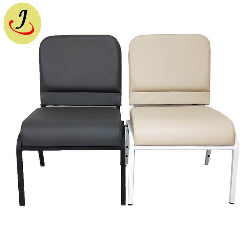 Competitive price royal armless leather church chair  SF-JC015 Featured Image