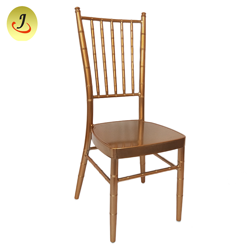 Wholesale factory Popular mirror Elegant royal gold stainless chiavari Chair FS-TC024 Featured Image