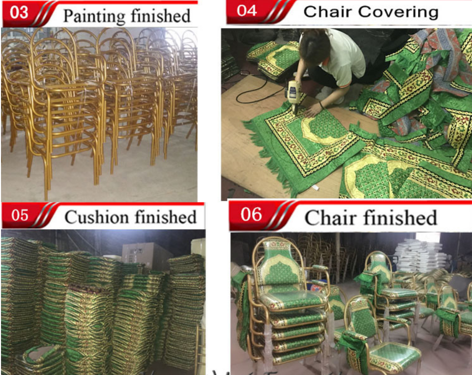 muslim chair production