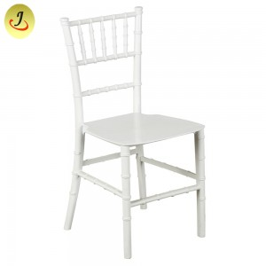 Outdoor Furniture Pink Kid Monobloc Resin Transparent Chiavari Chair SF-XH026