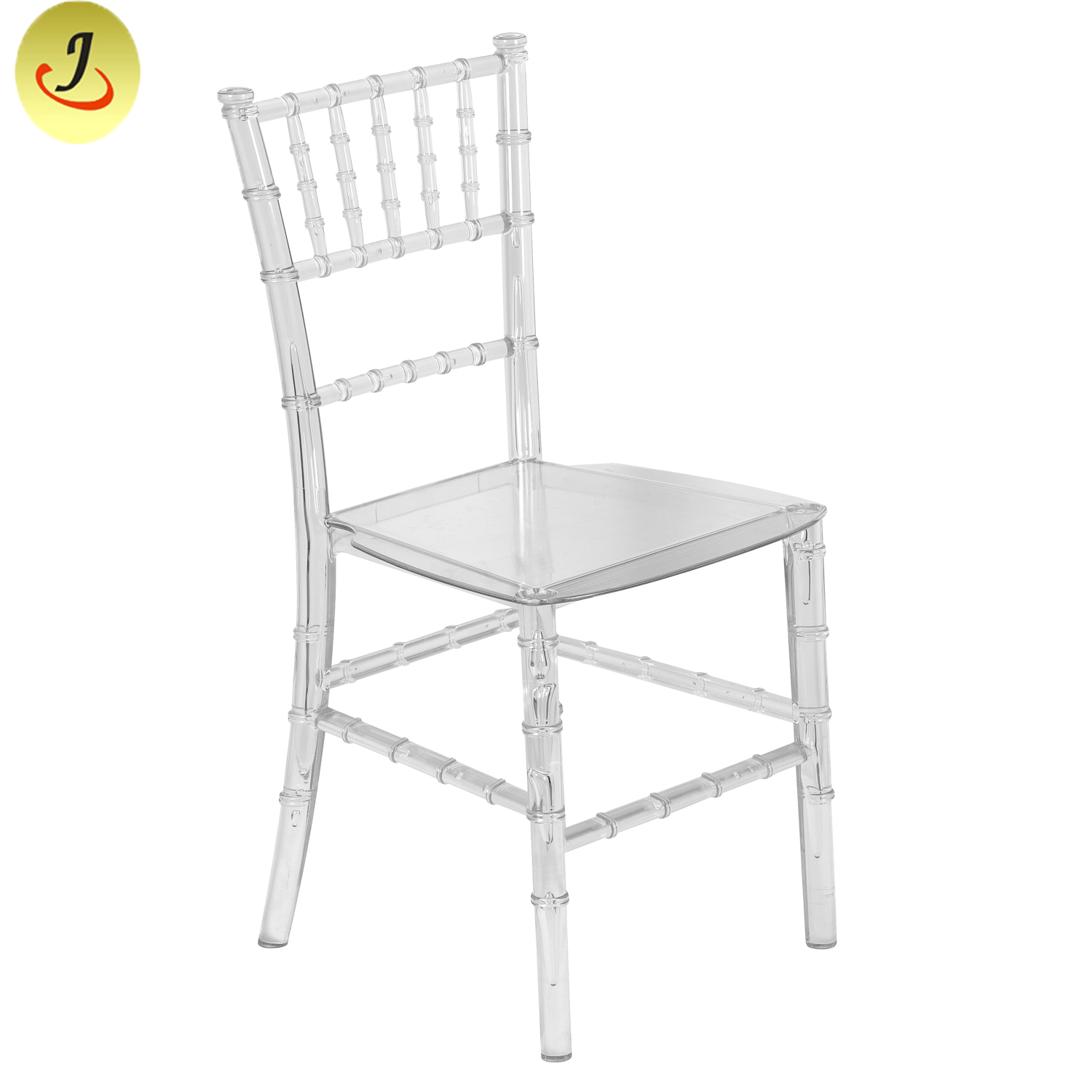 Outdoor Furniture Pink Kid Monobloc Resin Transparent Chiavari Chair SF-XH026 Featured Image