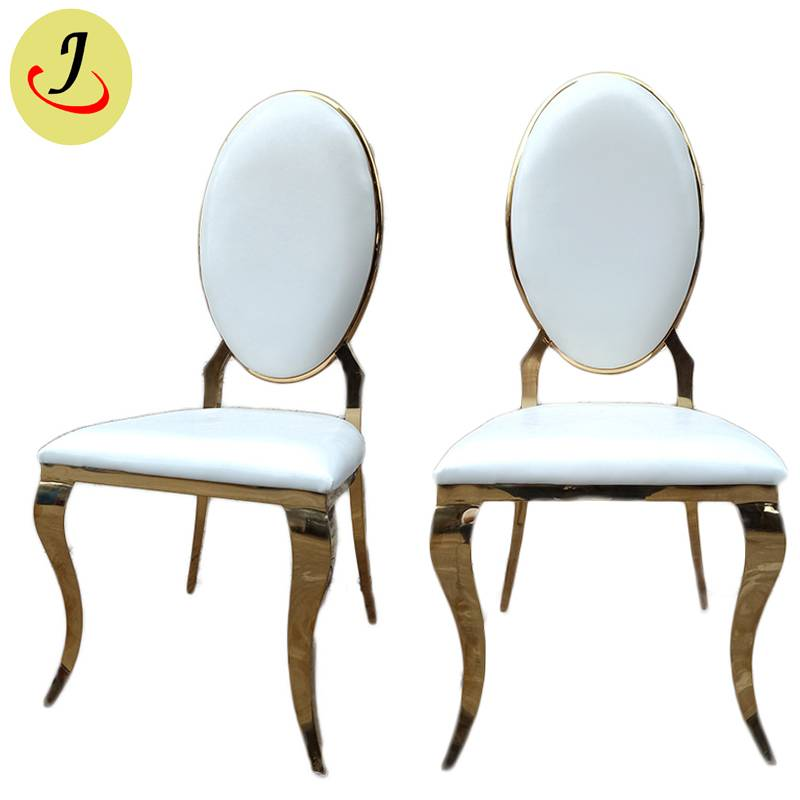 Factory supply golden Stainless Steel hotel wedding Chair  SF-SS026 Featured Image