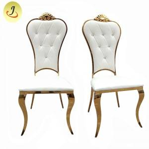 wholesale price golden modern Stainless Steel hotel wedding Chair  SF-SS024