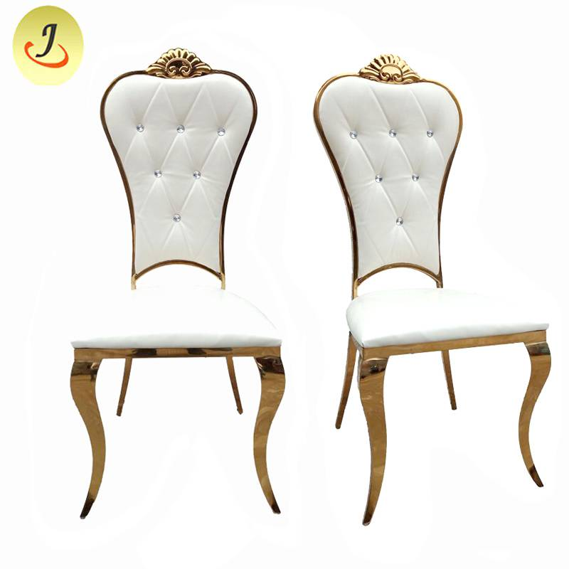 wholesale price golden modern Stainless Steel hotel wedding Chair  SF-SS024 Featured Image