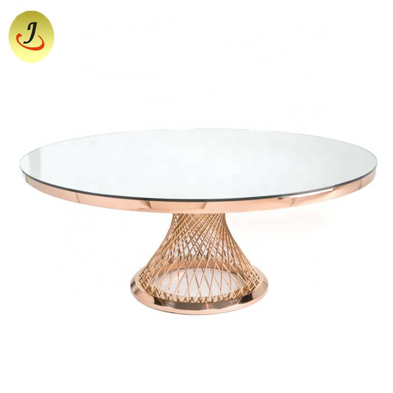 wholesale price popular stainless steel metal dining table SF-SS041 Featured Image