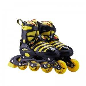 TE-203 Stiching toecap skates