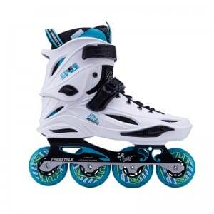 ODM Supplier Carbon Fiber Base Pu Vamp Speed Inline Skate Shoes Adult