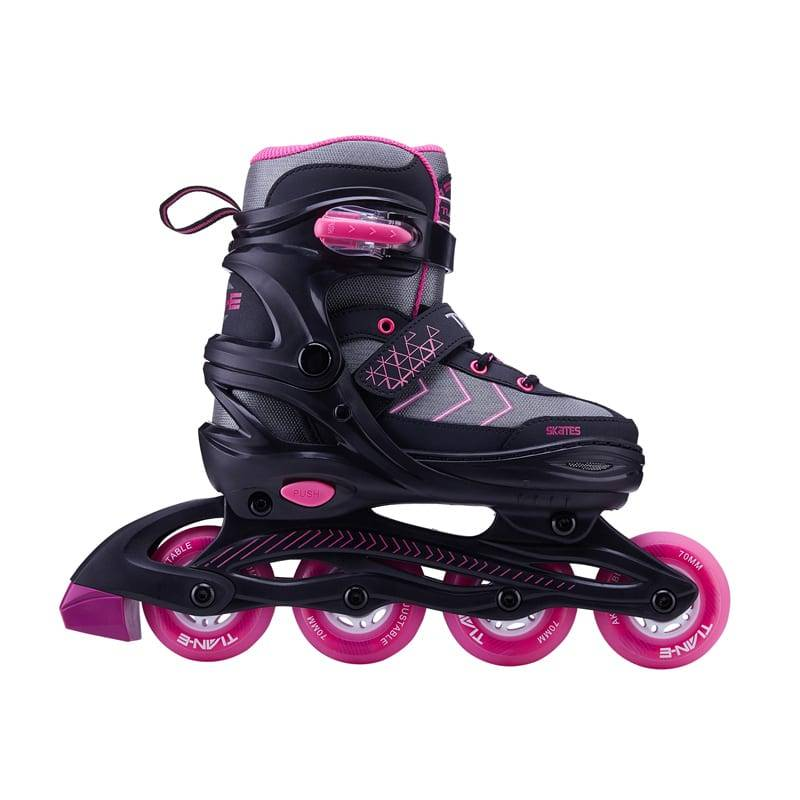 TE-881 Stiching toecap skates Featured Image