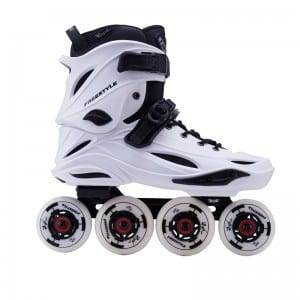 2019 High quality Colorful Genuine Leather Pu Wheels Durable Quad Roller Skates For Rental Rink