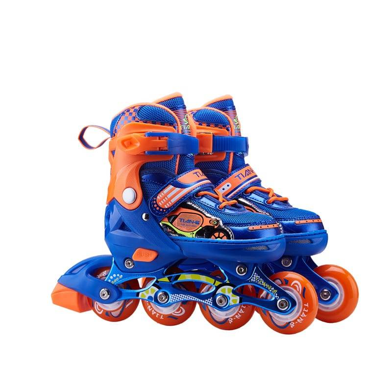 TE-205 Stiching toecap skates Featured Image