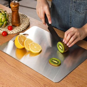 Stainless steel cutting board SUS304 kitchenware friut cutting board