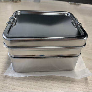 Three-in-one Food Grade Lunch Box leak leak proof lunch box bento