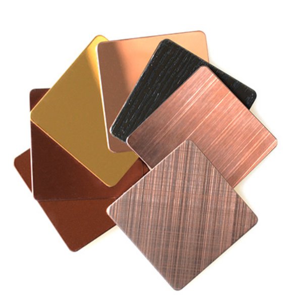 Coating stainless steel sheet Exquisite Fashion Home With Colored Stainless Steel