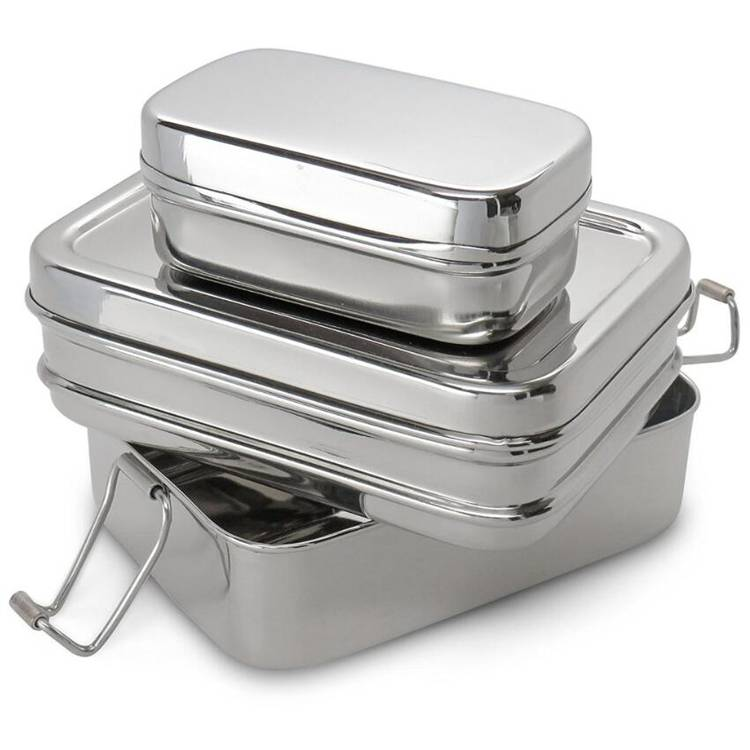 Personlized ProductsThermo Stainless Steel Lunch Box -