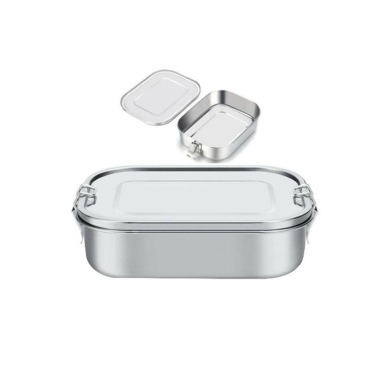 Stainless Steel Bento Ճաշ Ներդիր