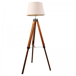 Wooden Floor Lamp-KL-F681