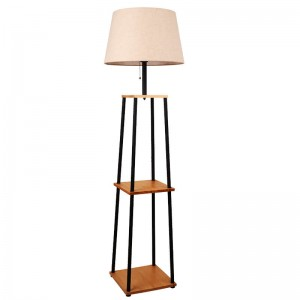Wooden Floor Lamp-KL-WF682