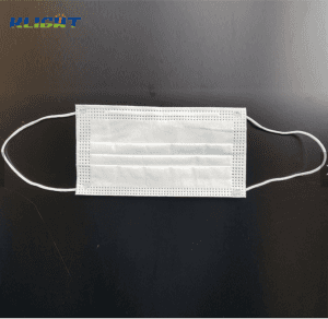 Wholesale CE Blue Ear Loop Non Woven 3 Ply Disposable Isolation Protection Face Mask