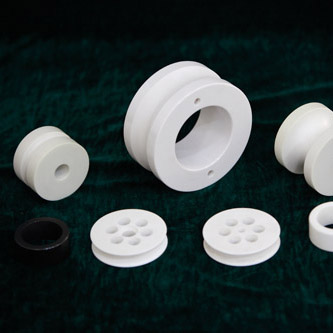 Hot Sale for Ceramic Zirconium Silicate Ball - Zirconia Wear-resistance Ceramic Guide Pulley – Sanxin Hi-Tech Ceramics