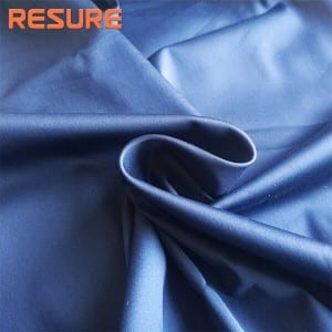 60s Cotton Nylon Spandex Satin Fabric