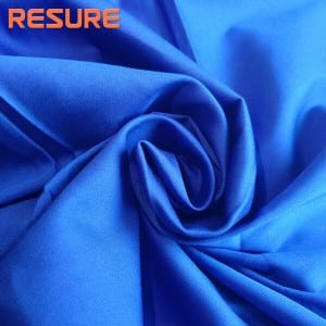 80s Cotton Nylon Spandex Satin Fabric