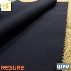 100% Polyester Stretched T400 Broken Twill Fabric