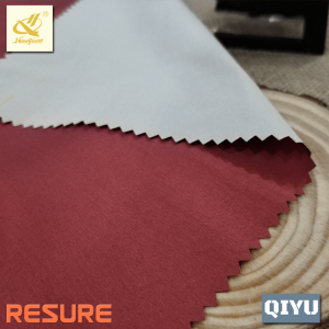 55%N 45%T Windproof Double Colors Cationic Dyed Polyamide Polyester Interweave Twill Fabric