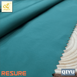 100% Polyester Fine Yarn Windproof Plain Fabric For Jackets