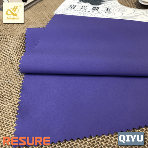 100% Polyester 129GSM T400 4-way Stretched Plain Weave Fabric