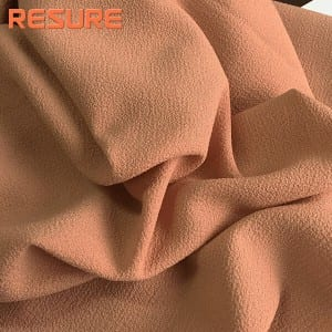 Polyester Moss Crepe Fabric For Lady Fashion Dress