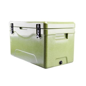 64 Quart Heavy Duty Cooler Ice Chest Outdoor Insulated Cooler Fishing Hunting Sports