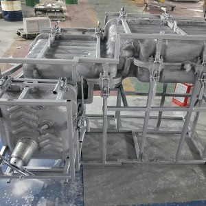 Rotational  molds for fuel tank