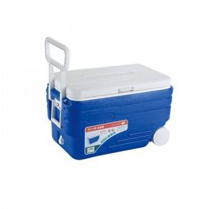 50QT cooler box with wheels and handle