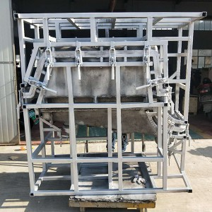 Rotational  molds for Backpack Pesticide box