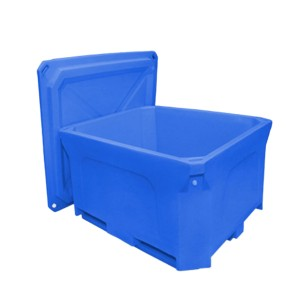 660l Stor 700L Kapacitet Isoleret Food And Fish Seafood Plastic Bins