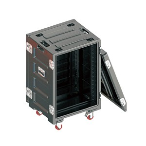 16U Heavy Duty Storage Box letenja kabelskimi Road Case