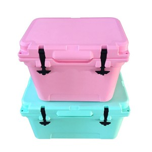 20QT best food storage selling LLDPE plastic rotomolded ice cooler  box