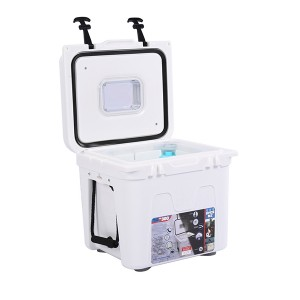 22Quart formowanych rotacyjnie High Performance Cooler Pro Tough odkryty Ice Chest