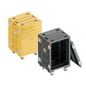 16U Heavy Duty Storage Box Flight Cable Boxes Road Case