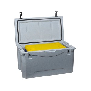 110L Rotomolded baliq bin muz ko'krak cooler box