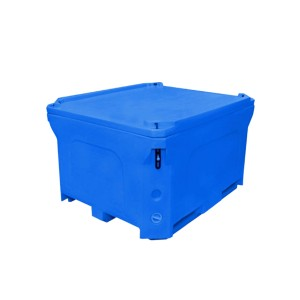 660l Large 700L Capacity Insulated Food And Fish Seafood Plastic Bins