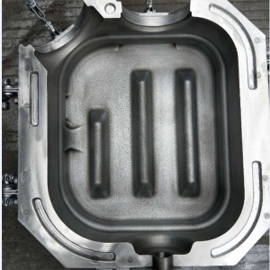 Finished urea tank mold