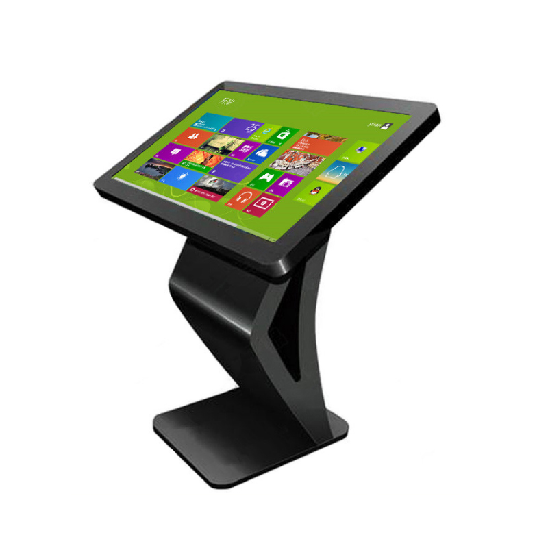 Hot selling 32 inch Interactive All in One PC Android Windows touch screen stand kiosk