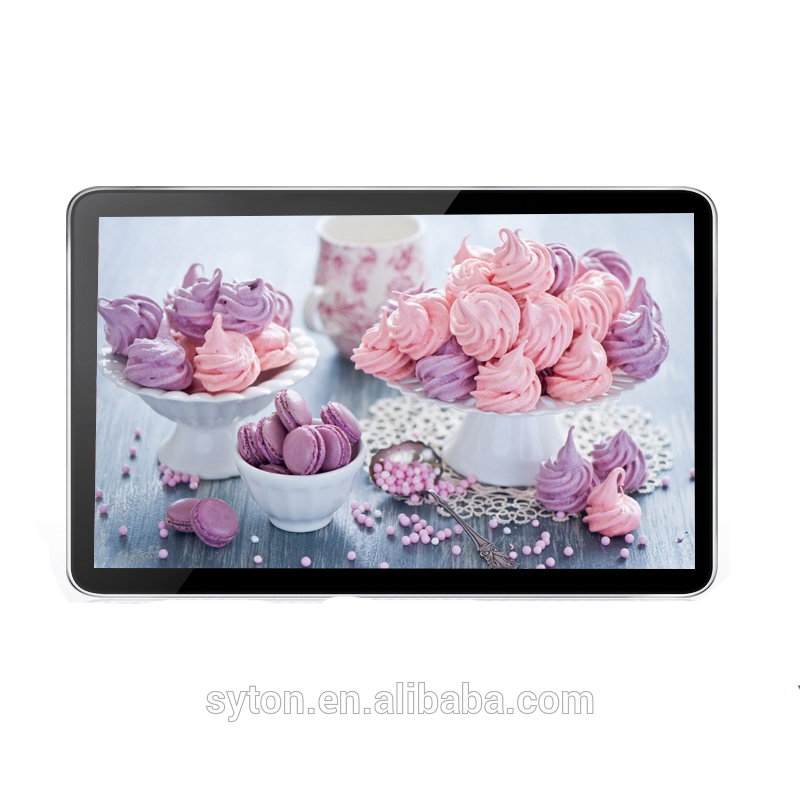wall mounted hd lcd android multi touch monitor ad display