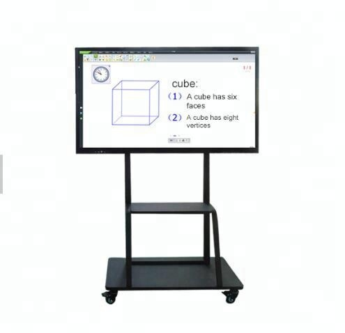 75 Inch Whiteboard Teaching Touch Screen Kiosk For School Governmen