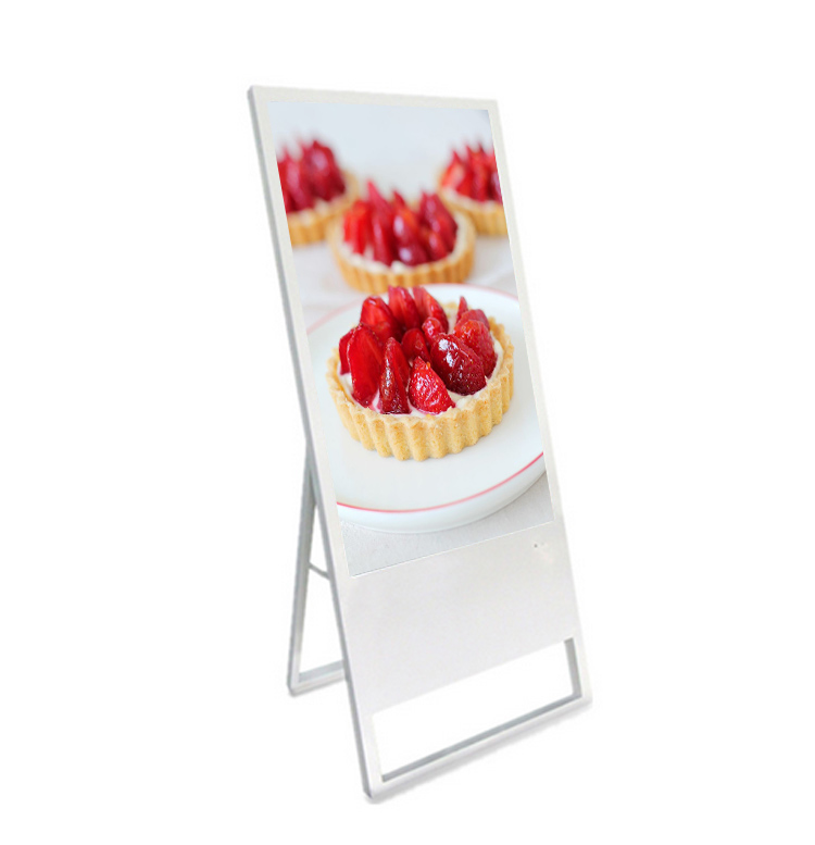 2018 hot selling 43inch lcd digital signage portable display for indoor advertising