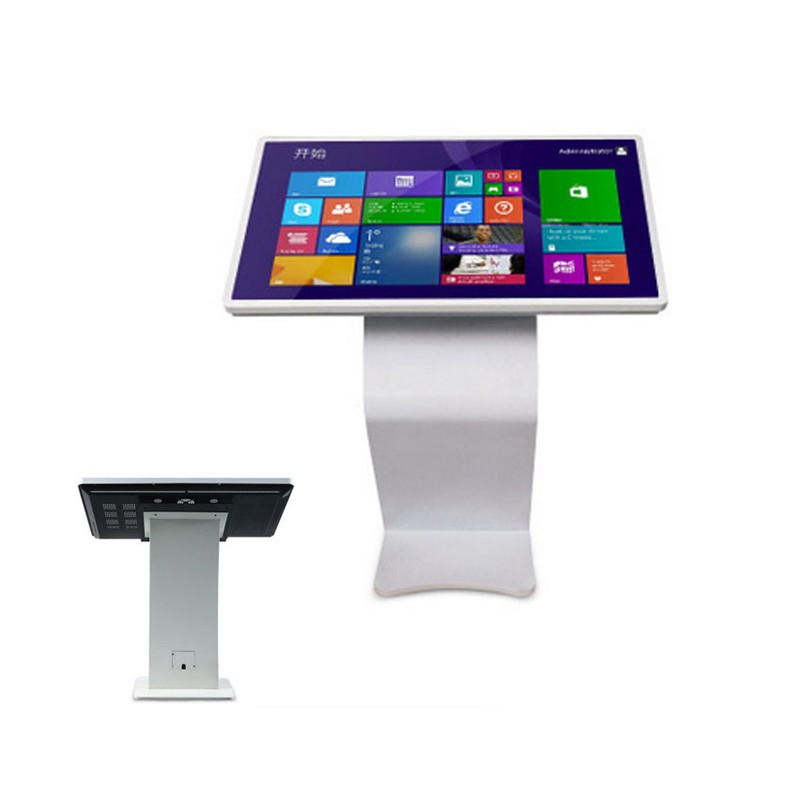 TFT Android All-In-One PC LCD Touch Screen Kiosk Ad Player For Hotel Mall Subway
