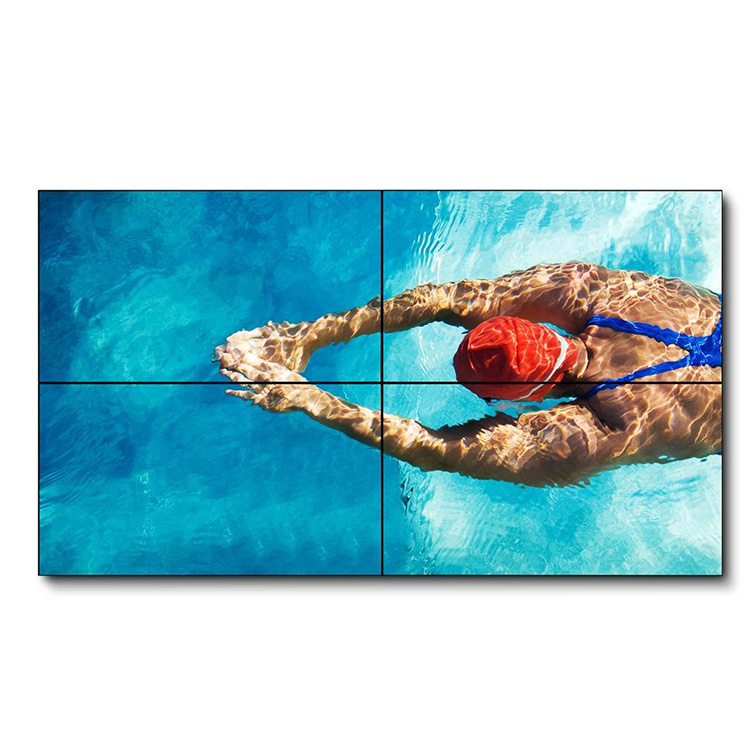 55 Inch 3.5mm bezel 3×3 video wall with ultra narrow bezel original tv lcd display panel