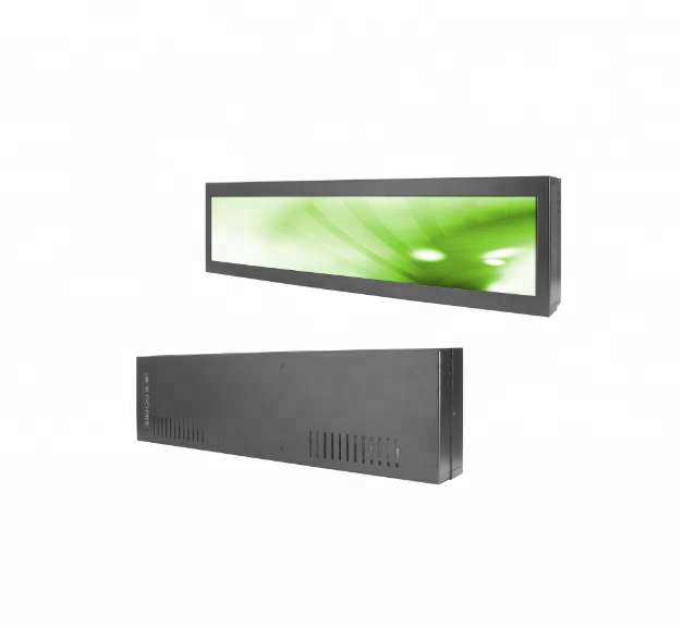 Hot Selling High Quality 14.9 Inch Stretched Bar Type LCD Display For Subway