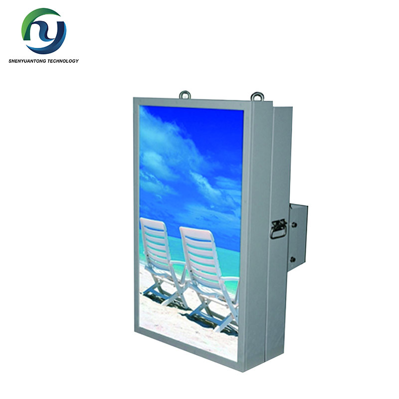 Wireless Wall Mounted LCD Panel media monitoring equipment,electronic advertising equipment,outdoor advertising equipment